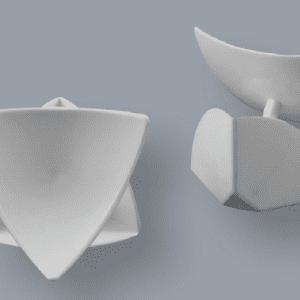 Foto Esquinero interno grande tipo concha - OC3V 100
